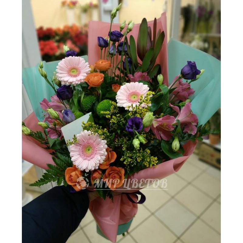 Букет цветов Хай