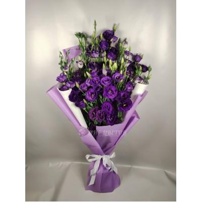 Букет Фиолетовых Эустом 15 веток