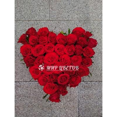 Коробка Сердце Роз