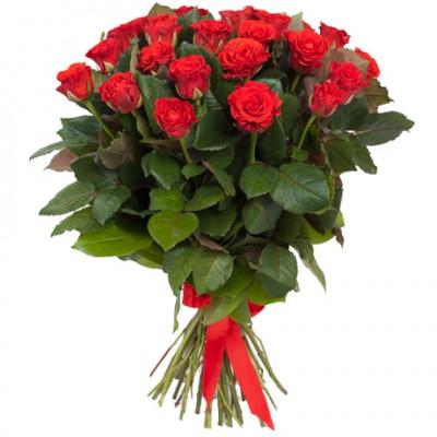 Букет 15 красных роз Эльторо