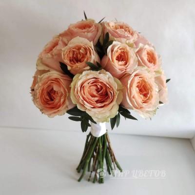 Свадебный Букет 73 Пионовидная роза