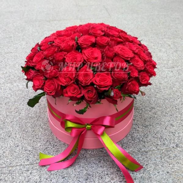 Море роз в шляпной коробке